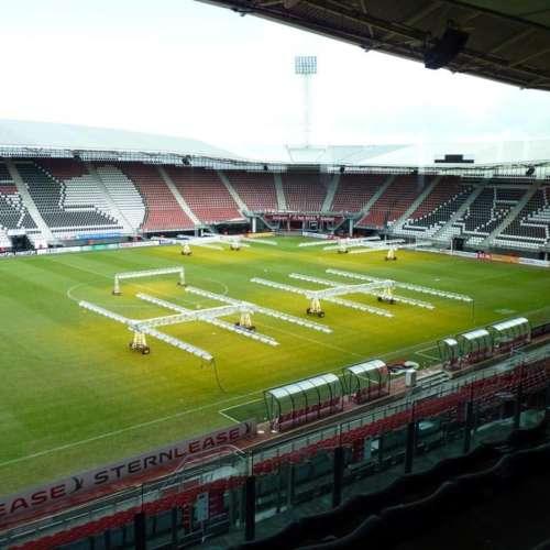 AZ Stadion voetbalveld
