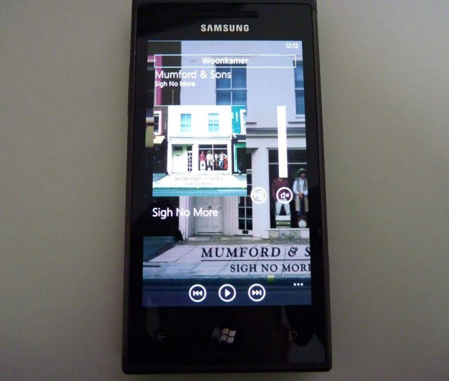 Phonos Windows Phone 3