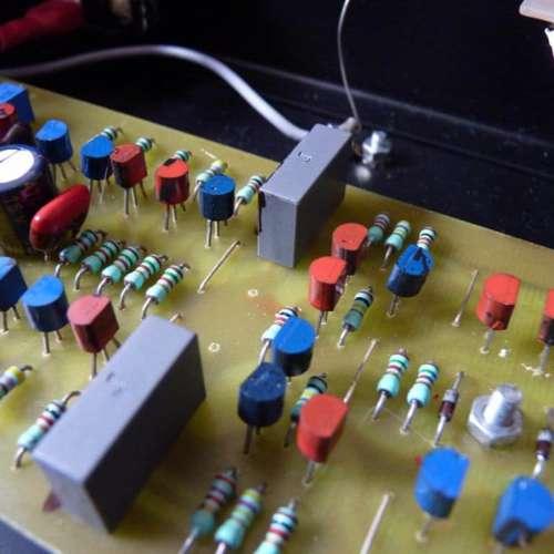 Art Speak modificatie condensator ingang