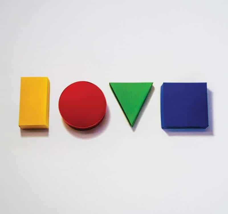 Jason Mraz Love is a four letter word