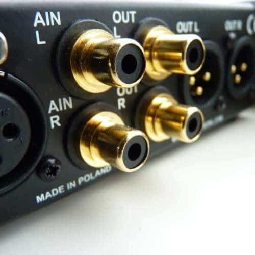 Mytek Stereo192 dsd dac back cinch