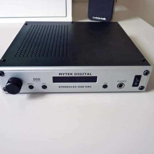 Mytek Stereo192 dsd dac front straight 2