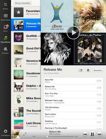 Spotify iPad