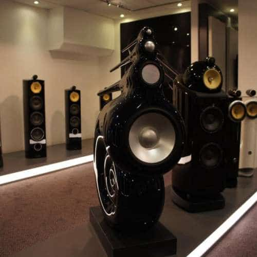Bowers Wilkins Nautilus and 800-series