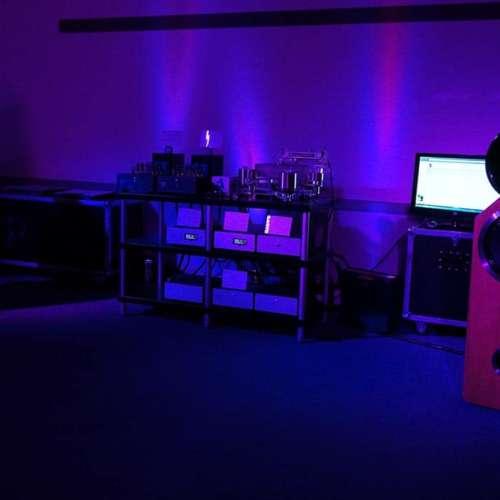 De setup van Pink Faun