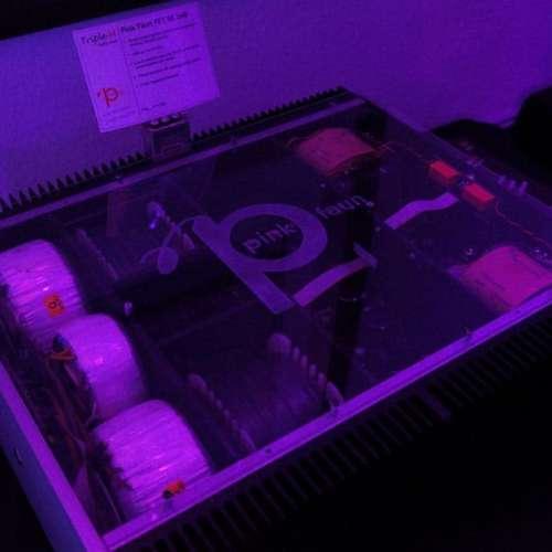 Pink Faun's FET SE 2x40 watt eindversterker.