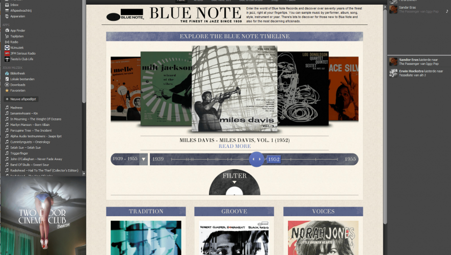 blue note spotify