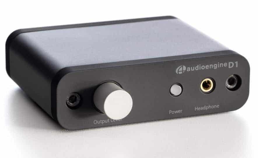 Audioengine D1 usb dac voorzijde