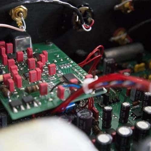 Dion Audio DAC32 binnenkant usb-input