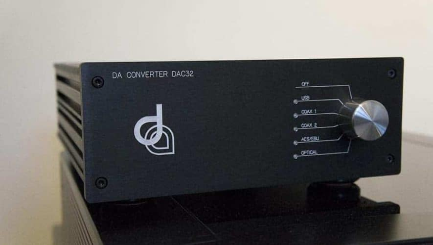 Dion Audio DAC32 voorkant