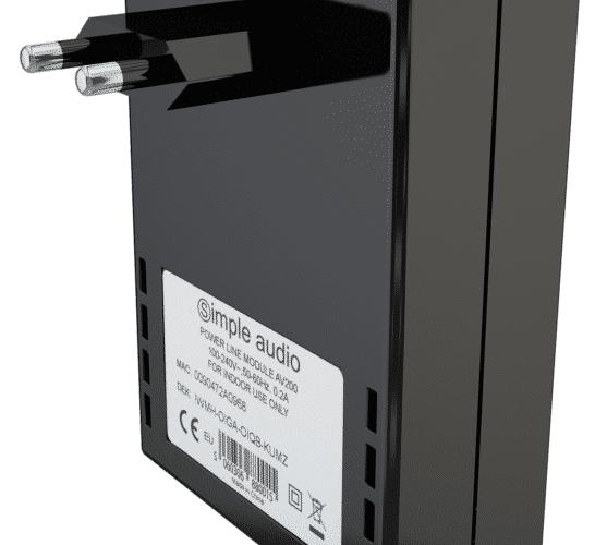 Simple Audio homeplug