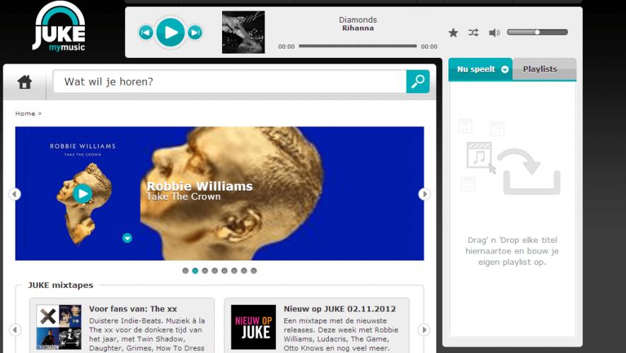 Juke streaming Nederland