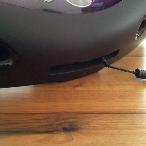Logitech UE Air Speaker back