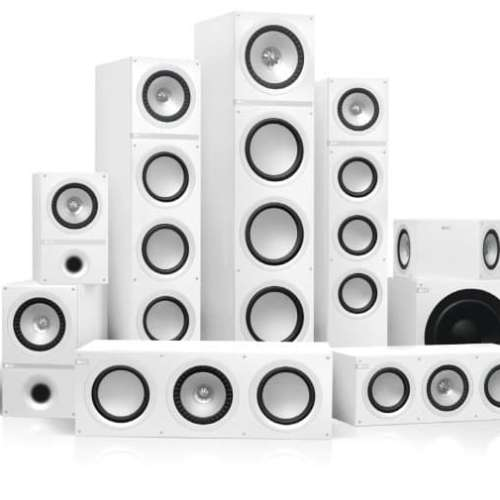 KEF Q-serie wit