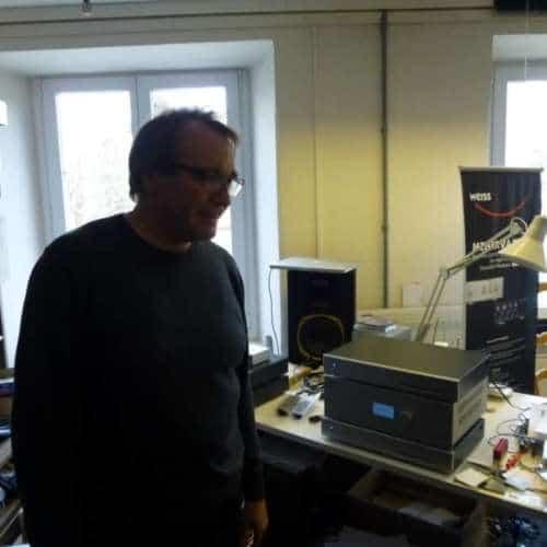 Weiss Audio interview