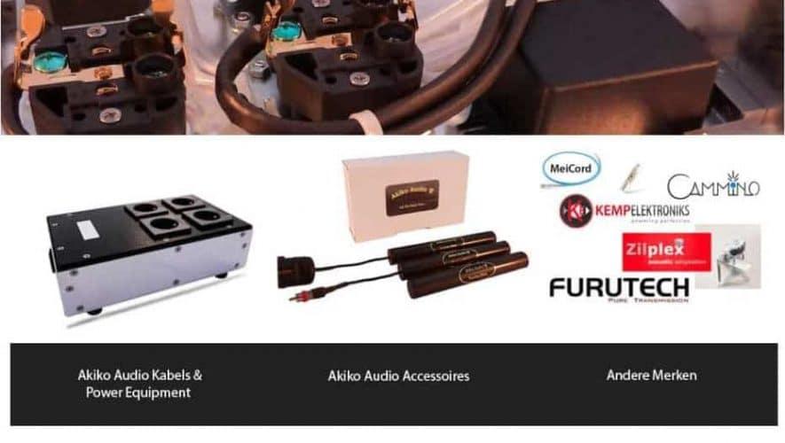 Website Akiko Audio