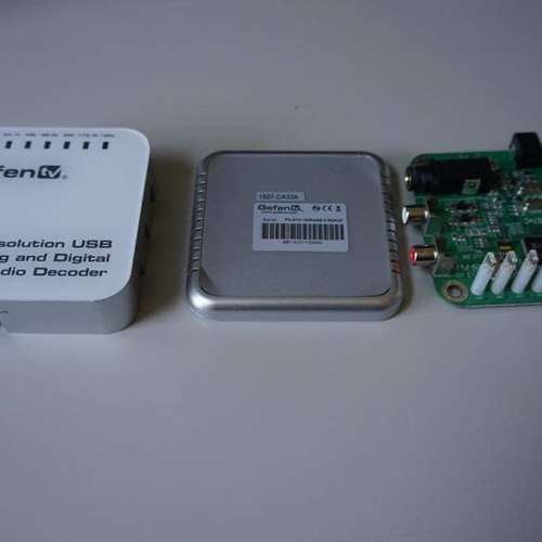 GefenTV USB DAC overzicht