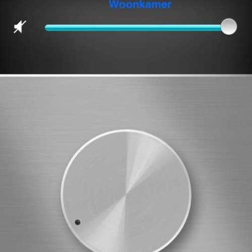 Raumfeld App volume