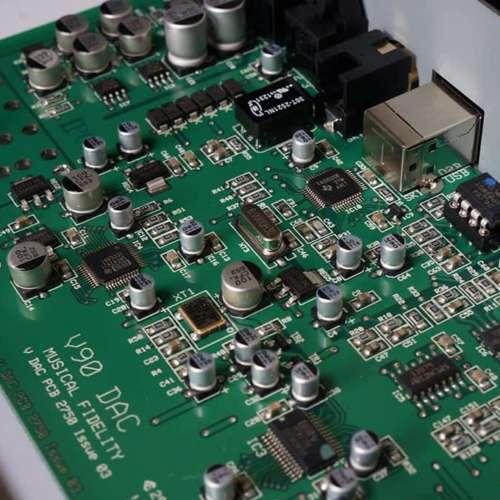 Musical Fidelity V90 binnenkant detail