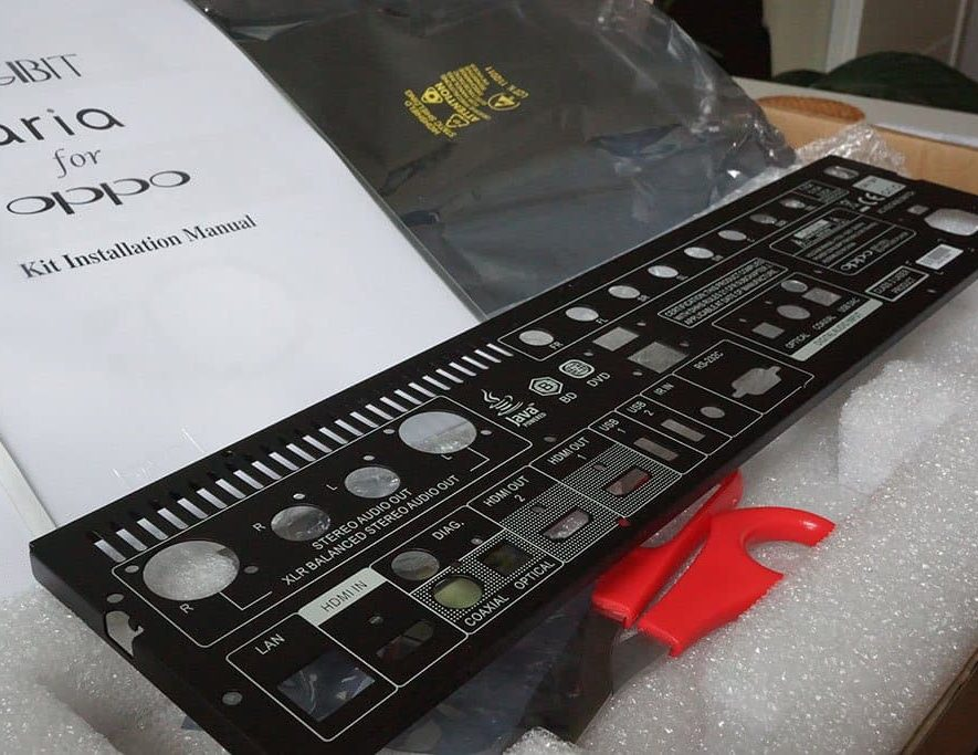 Achterkant Aria Kit Oppo 105-D