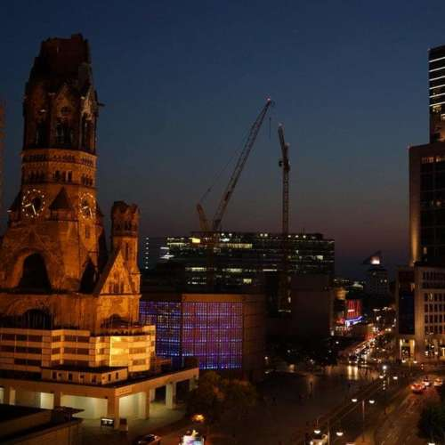 Berlijn vanuit kantoor Teufel