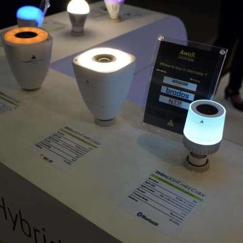 Lampen met speaker