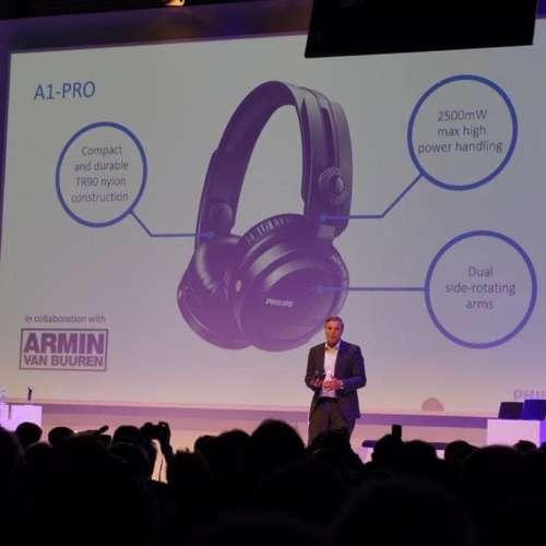 Philips hoofdtelefoon presentatie