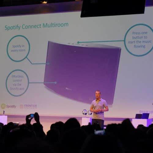 Philips presentatie spotify Connect