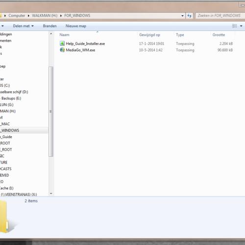 Software Sony NWZ-A15