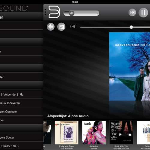 Bluesound iPad app (4)