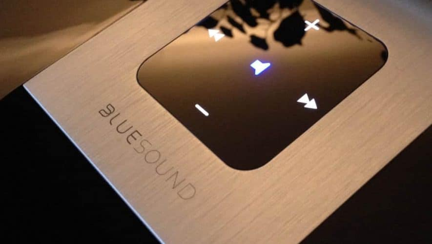 Bluesound Pulse touchpanel