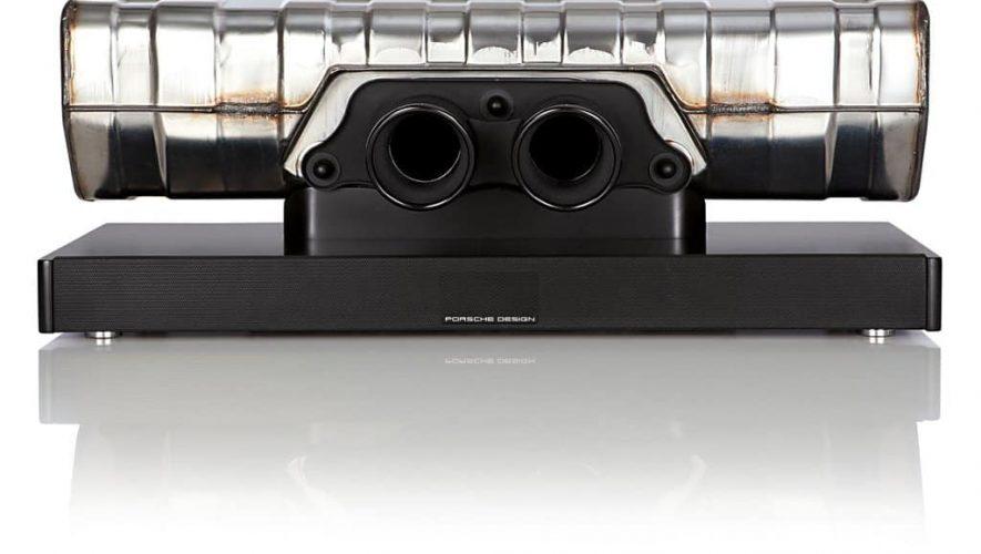 De Porsche 911 soundbar is weer eens wat anders