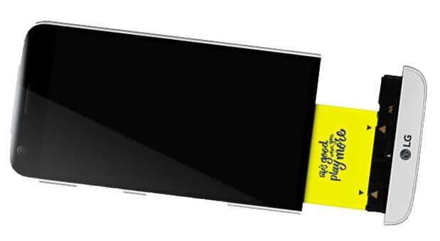 De LG G5 is voorzien van een uitbreidingsconnector met onder meer plek voor een DAC