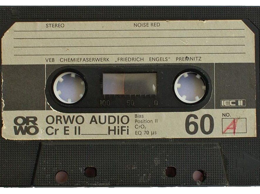 De aloude audiocassette, bezig met een terugkeer