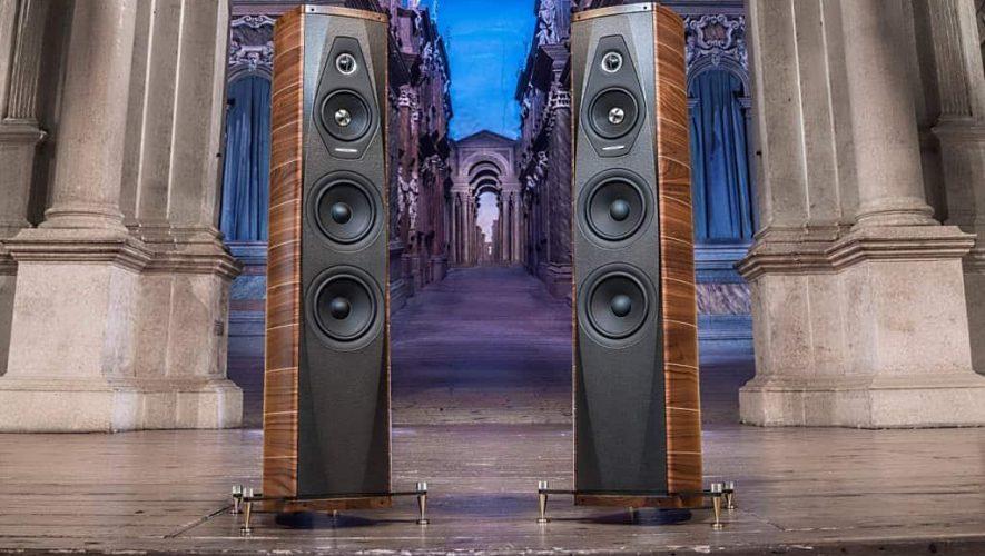Pak mee die Sonus Faber Olympia III luidsprekers
