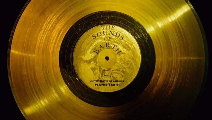 Ook op de Voyager zit een gouden plaat geplakt
