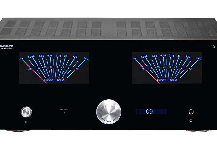 De Advance Acoustic X-i125 geïntegreerde versterker