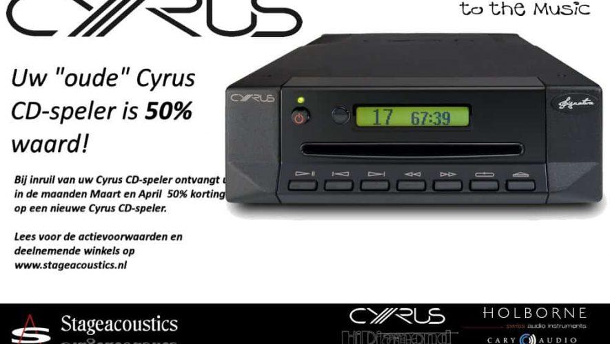 Inruilen maar die oude Cyrus CD-speler