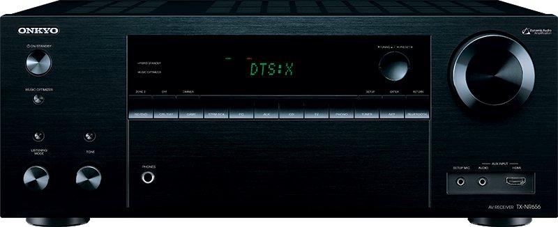 De gloednieuwe Onkyo TX-NR656 receiver