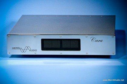 De nieuwe Cara voorversterker van Merill Audio
