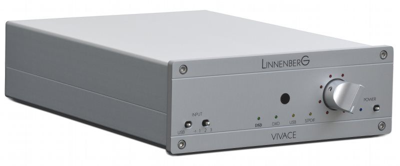 De LinnenberG Vivace DAC in volle glorie