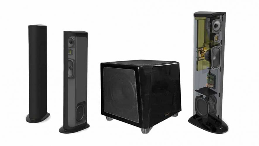 Nieuwe speakers en sub van GoldenEar Technology
