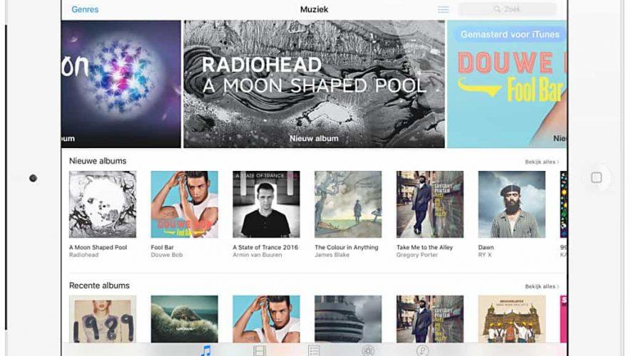 Het downloaden van tracks en albums via Apple iTunes loopt mogelijk op z'n eind