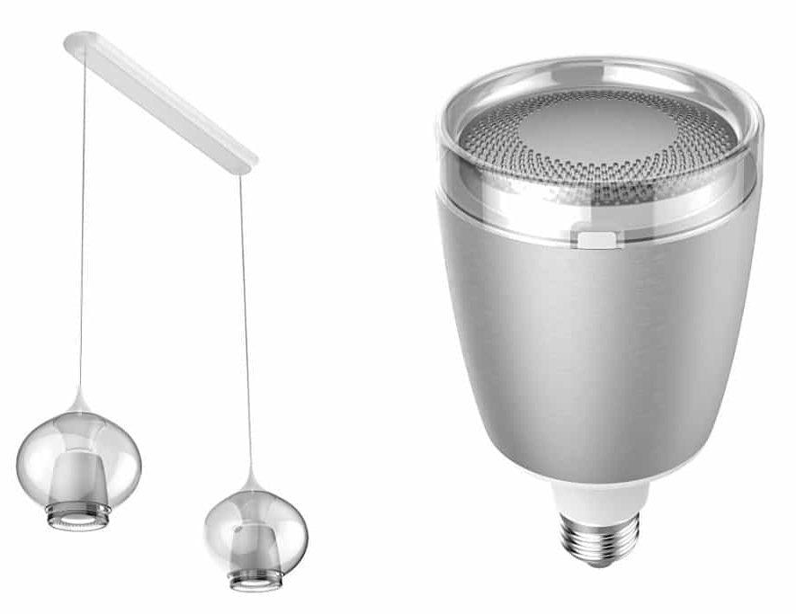 Flex muzikale lamp in een bijpassende fitting en genieten maar