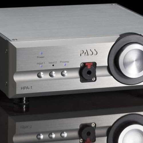 De Pass Labs HPA-1 hoofdtelefoonversterker kan ook als voorversterker fungeren