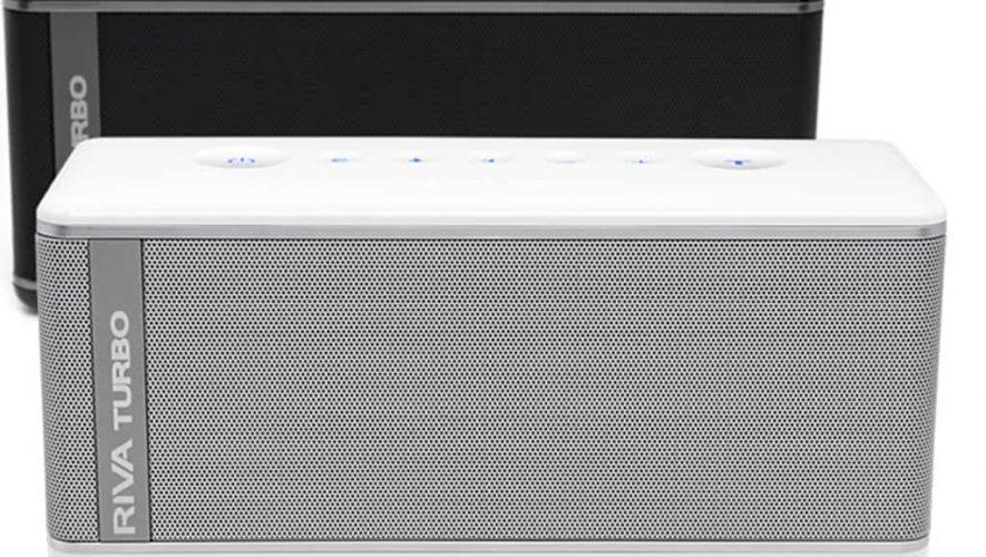 De Riva Turbo X is een Bluetoothspeaker uit de betere kwaliteitsklasse