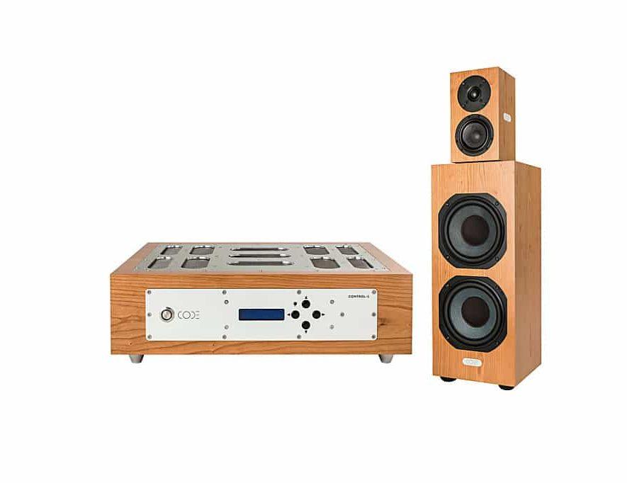 De relatief betaalbare high-end set van Code Acoustics