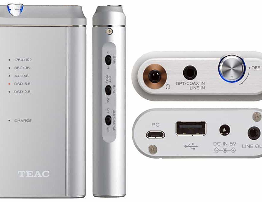 De TEAC HA-P5 portable USB-DAC en koptelefoonversterker