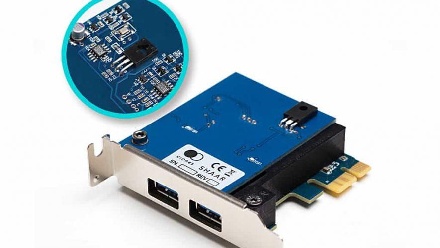 De Shaar van Clones Audio, audiofiel USB3