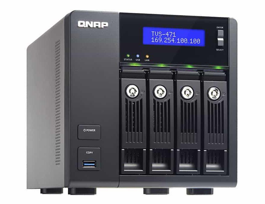 Roon Server draait vanaf nu ook op stevige NAssen zoals deze QNAP TVS-471